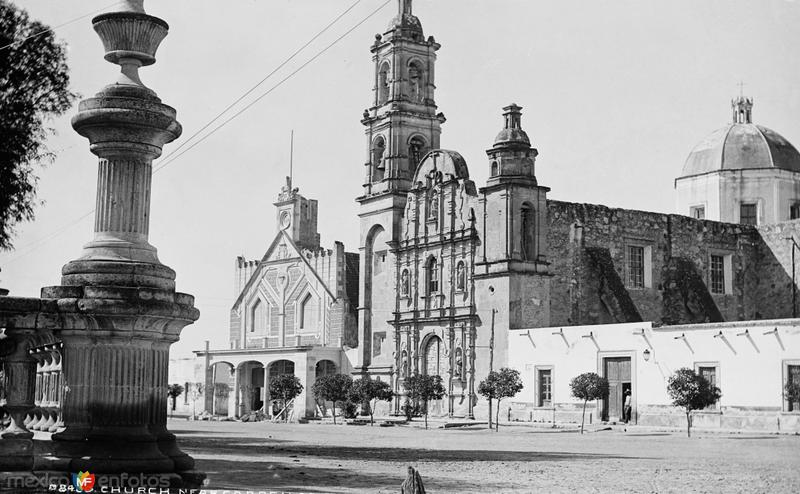 Templo de San Marcos (por William Henry Jackson, c. 1888)
