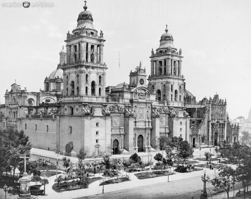 Catedral Metropolitana (por William Henry Jackson, c. 1899)