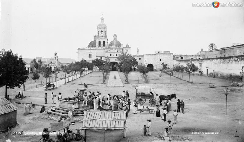 Convento de la Cruz (por William Henry Jackson, 1888)