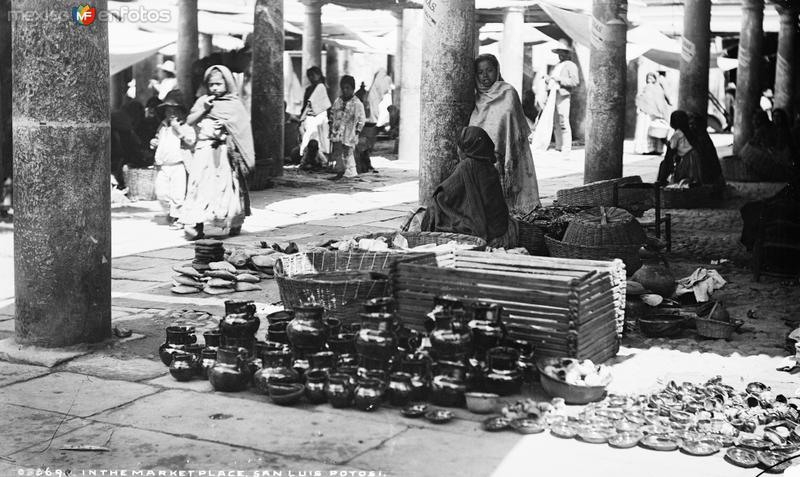 Mercado (por William Henry Jackson, c. 1888)