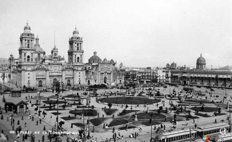 Zócalo y Catedral