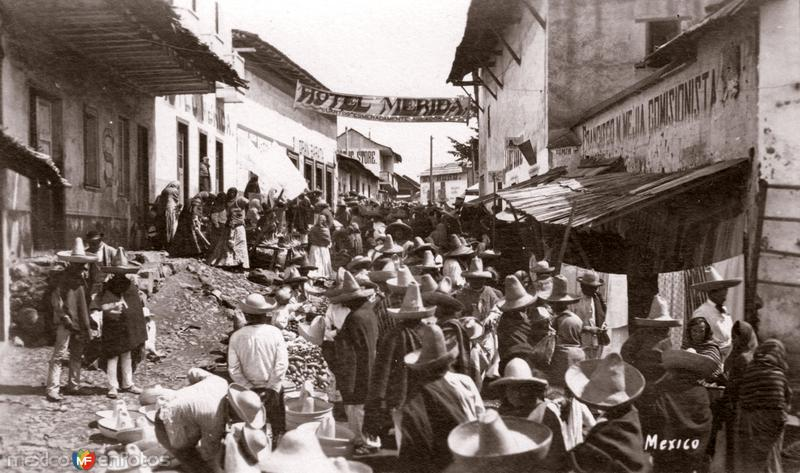 Mercado en El Oro