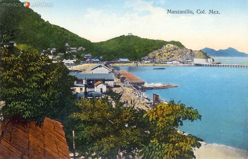 Fotos de Manzanillo, Colima, México: Vista del puerto