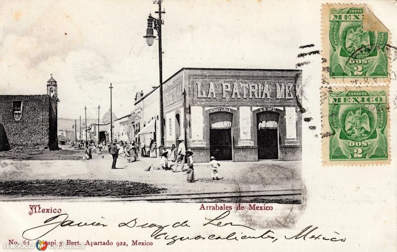 Arrabales de México