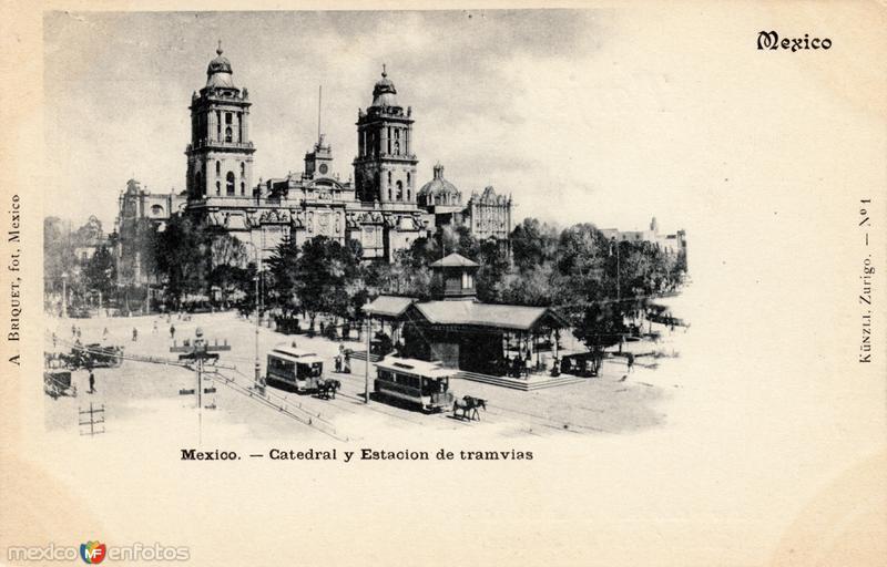 Catedral y Estación de Tranvías