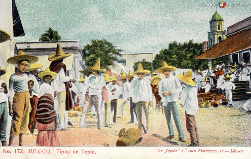 Mercado en Tepic