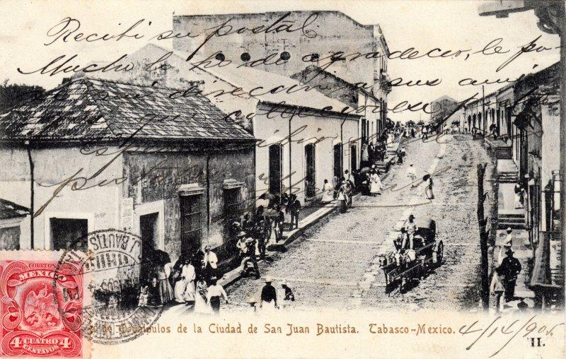 Fotos de Villahermosa, Tabasco, M�xico: Calle de Esqu�pulas