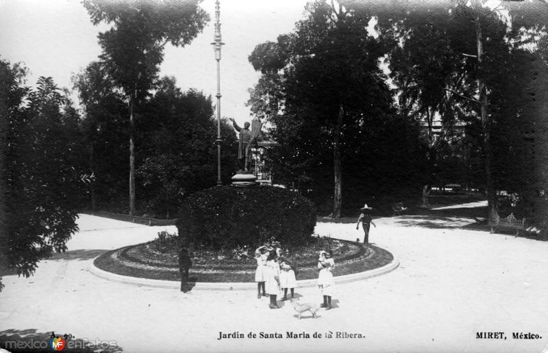 Jardín de Santa María de la Ribera