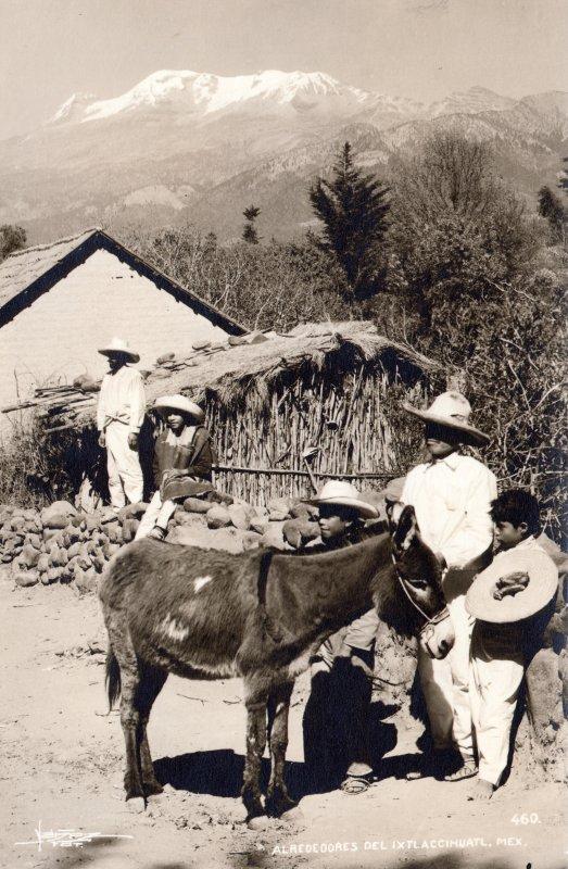Alrededores del Iztaccíhuatl
