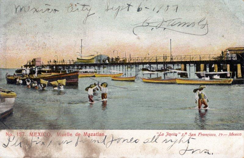 Muelle de Mazatlán