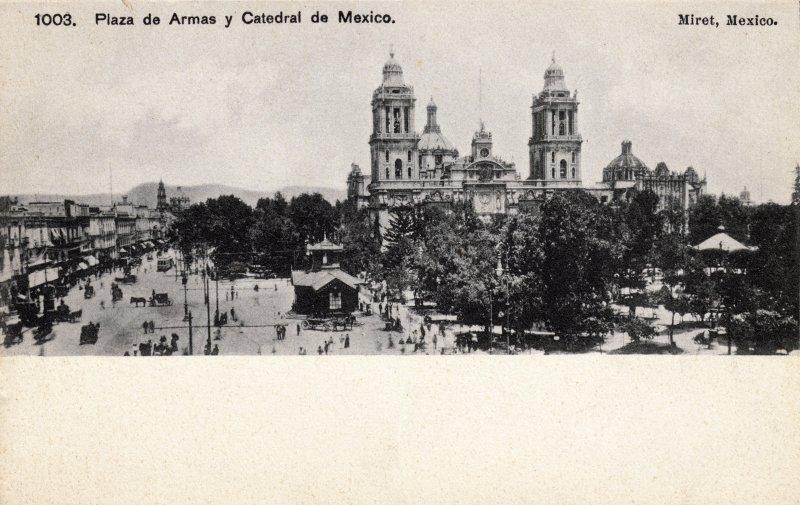 Zócalo y Catedral de la Ciudad de México