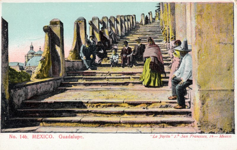 Subida al Cerro del Tepeyac