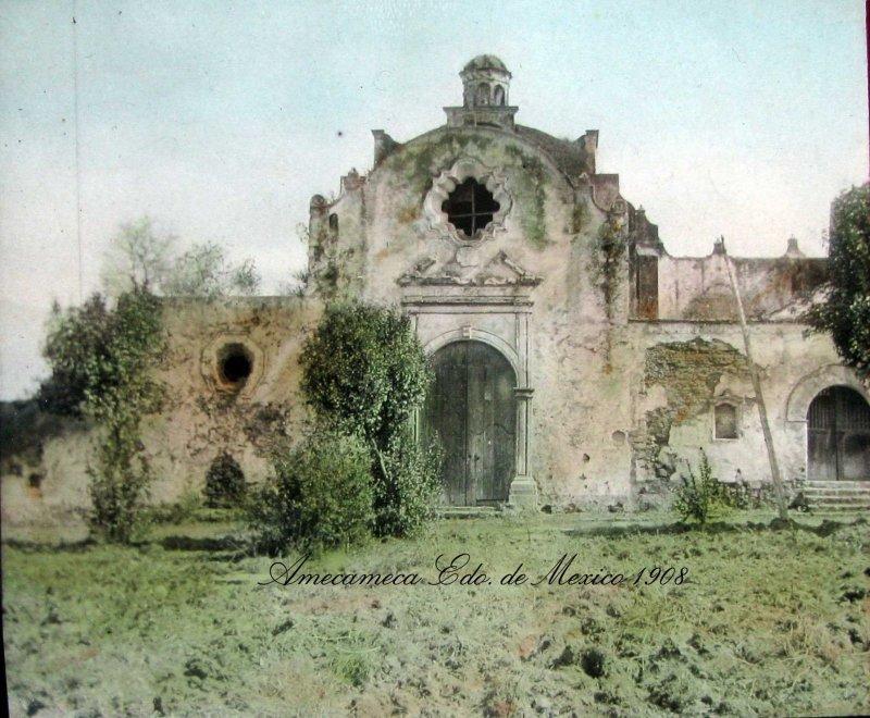 IGLESIA EN EL SACROMONTE hacia 1908
