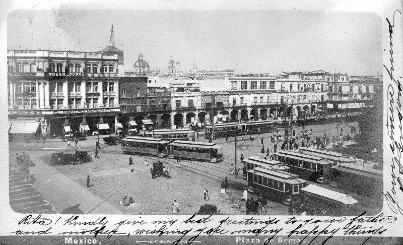 El Zócalo (c. 1890)