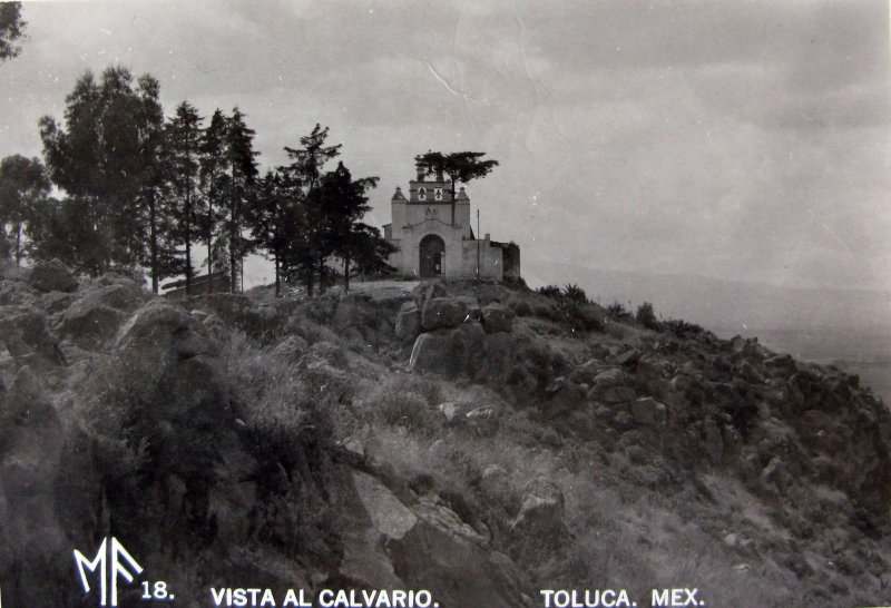 VISTA AL CALVARIO Hacia 1945