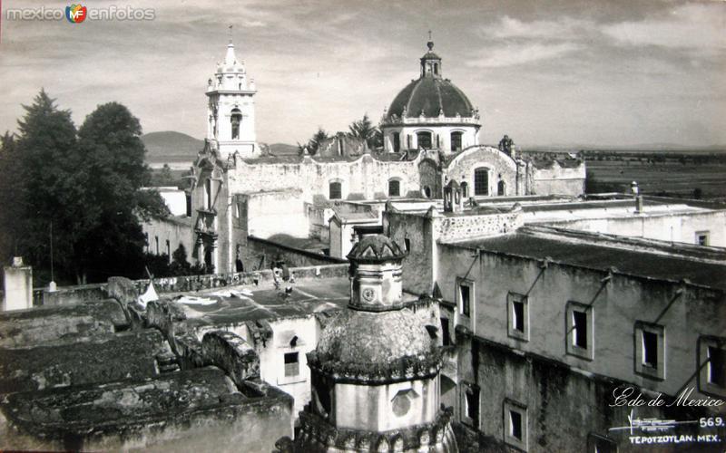 PANORAMA DEL CONVENTO Hacia 1945