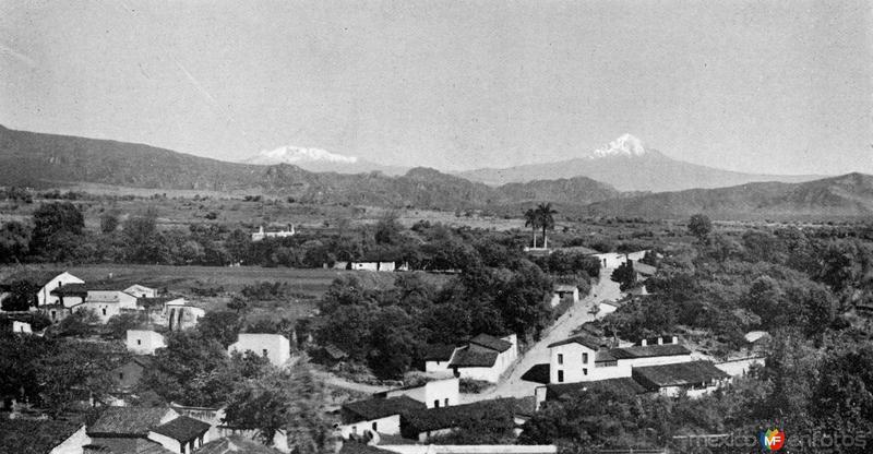 Vista de Cuernavaca desde el Palacio de Cortés