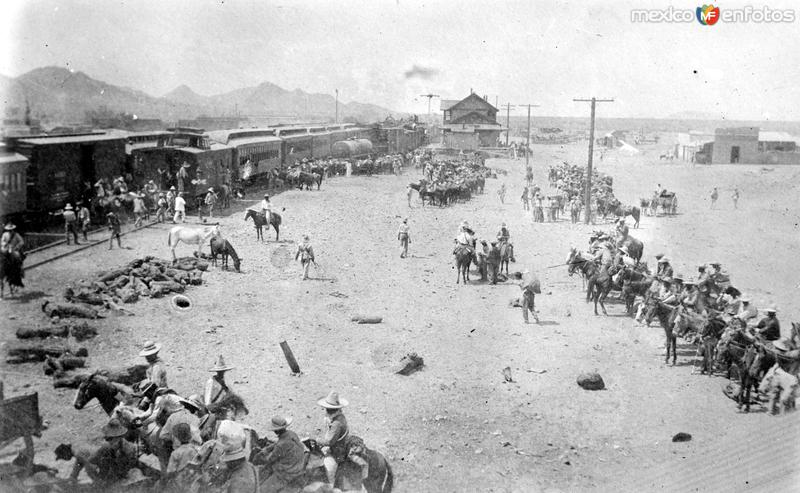Campamento del Ejército Federal (Bain News Service, c. 1913)