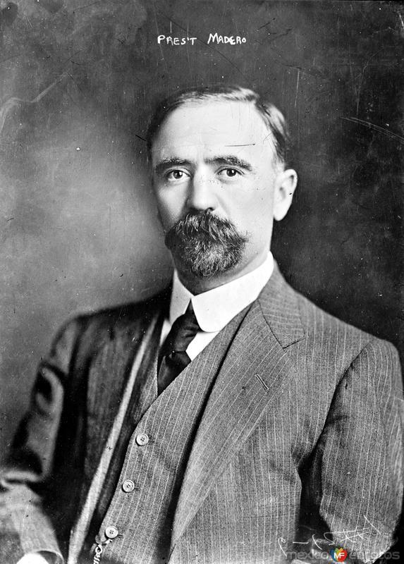 Francisco I. Madero (Bain News Service, 1911)
