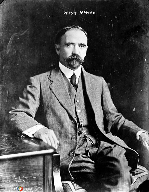 Francisco I. Madero (Bain News Service, 1912)