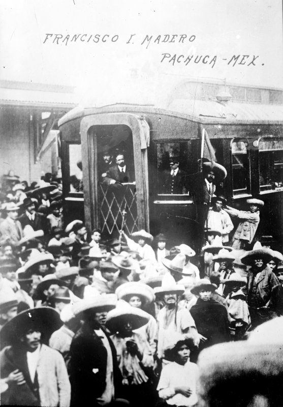 Francisco I. Madero en Pachuca (Bain News Service, 1911)