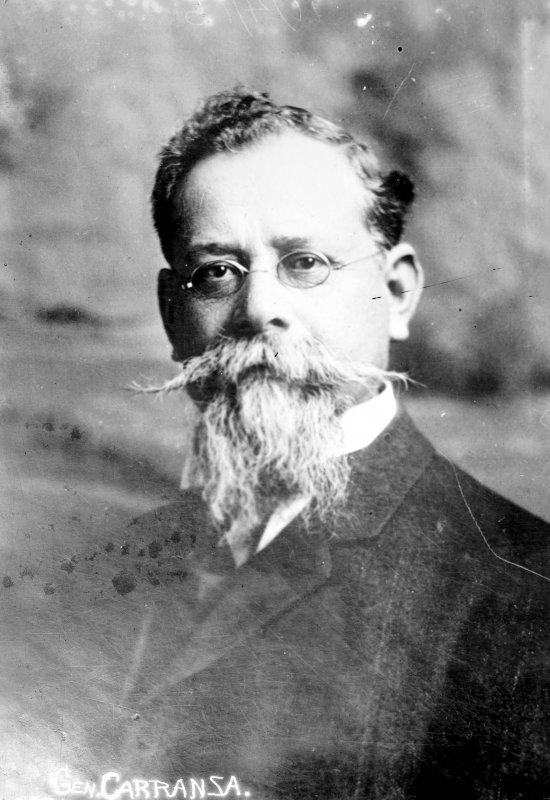 Venustiano Carranza, jefe del ejército constitucionalista (Bain News Service, c. 1914)