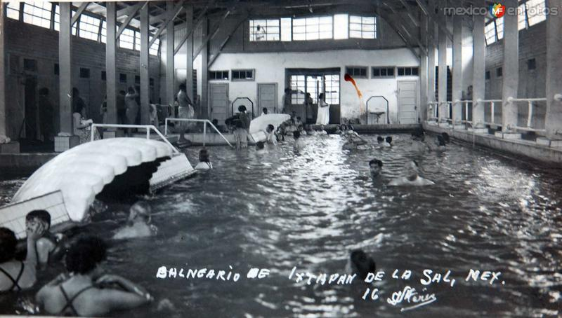 Fotos de Ixtapan de la Sal, M�xico, M�xico: BALNEARIO Hacia 1945