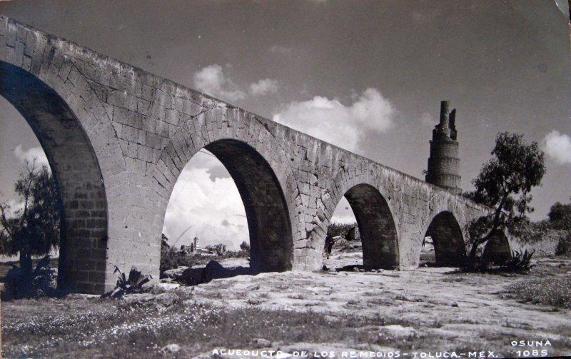 VIEJO ACUEDUCTO Hacia 1930