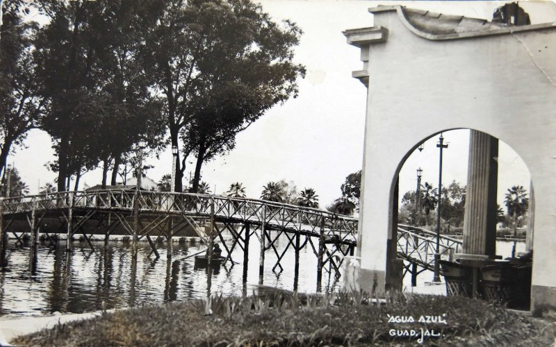 Parque Agua Azul Hacia 1945