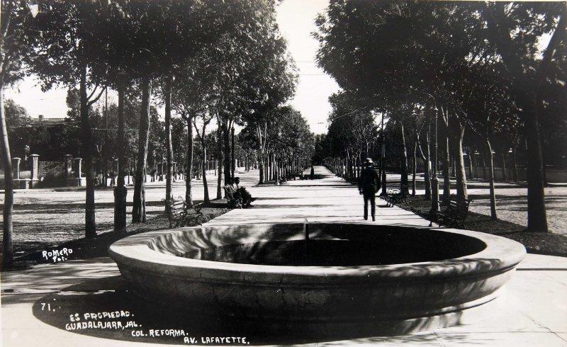 AVENIDA LAFAYETTE Hacia 1935