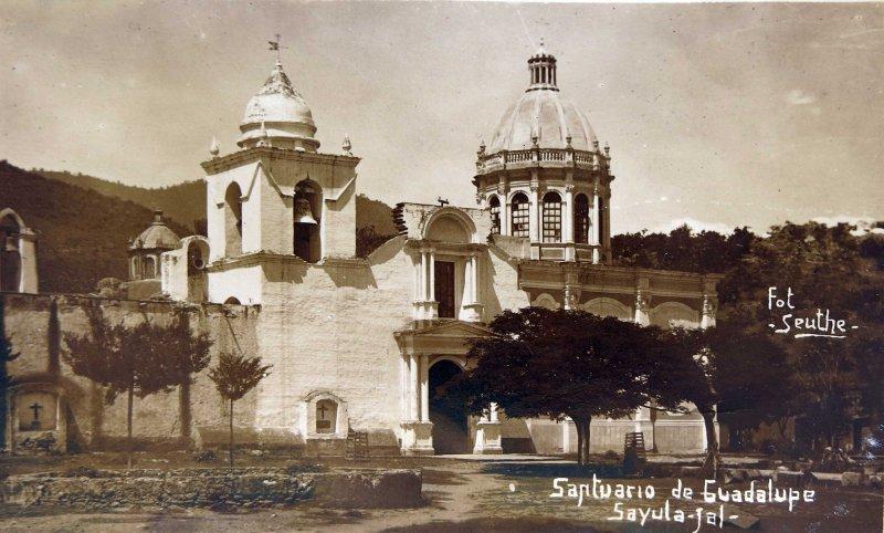 SANTUARIO DE GUADALUPE Hacia 1945