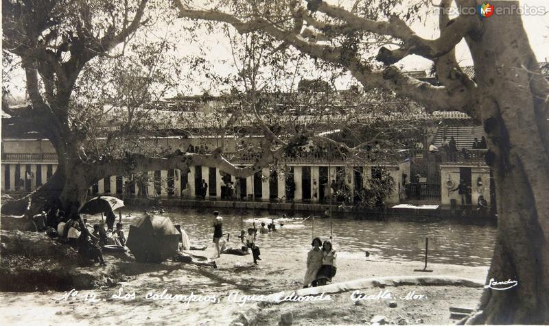 BALNEARIO AGUA HEDIONDA Hacia 1930