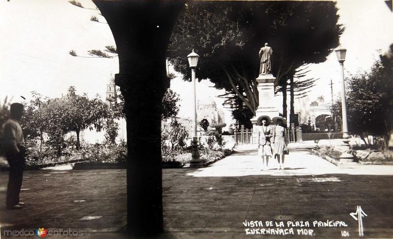 PLAZA PRINCIPAL Hacia 1930