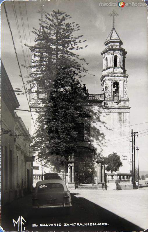 IGLESIA DE EL CAVARIO Hacia 1945