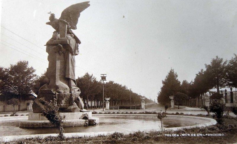 MONUMENTO A CHILPANCINGO Hacia 1945