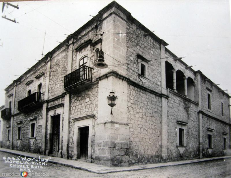 CASA MORELOS Hacia 1945
