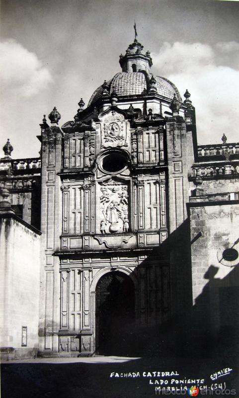 FAHADA LA CATEDRAL Hacia 1945