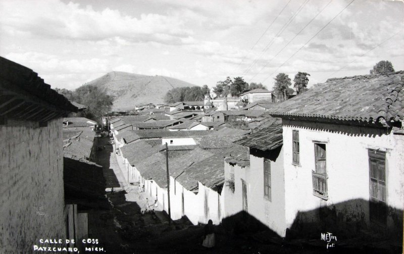 CALLE DE COSS Hacia 1945