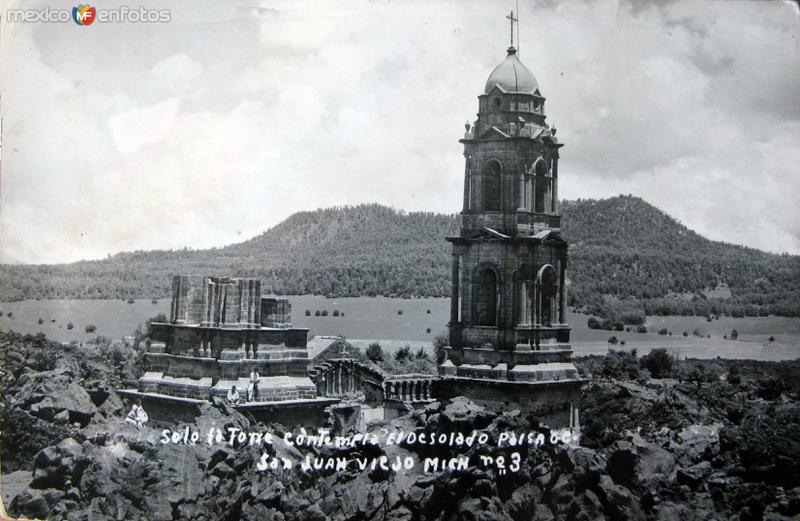 PANORAMA DE LA IGLESIA Hacia 1945
