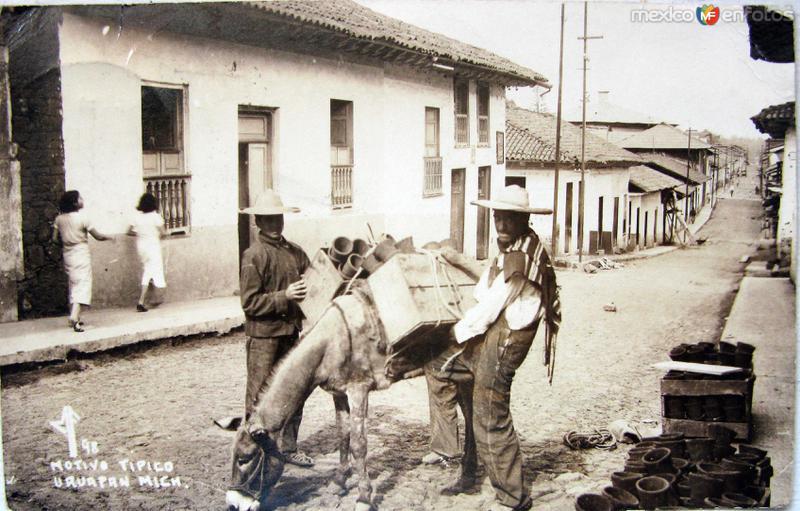 TIPOS MEXICANOS ARRIEROS Hacia 1940