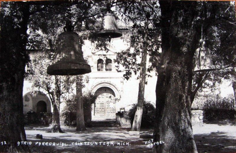 ATRIO E IGLESIA Hacia 1945