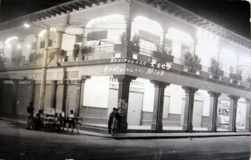 RADIFUSORA XECJ Hacia 1945