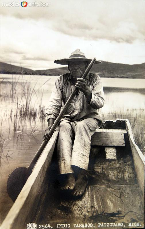 INDIO TARASCO Hacia 1940