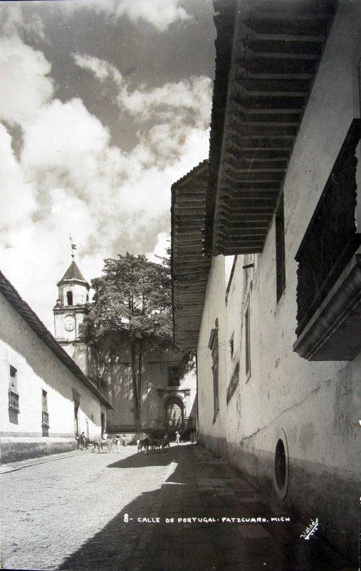 CALLE PORTUGAL Hacia 1940