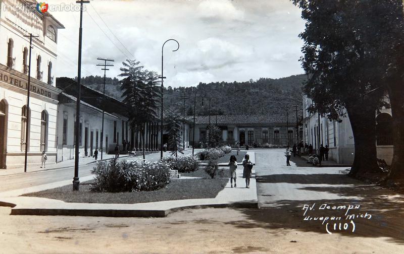 AVENIDA OCAMPO Hacia 1945