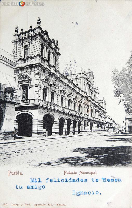 PALACIO MUNICIPAL Hacia 1909