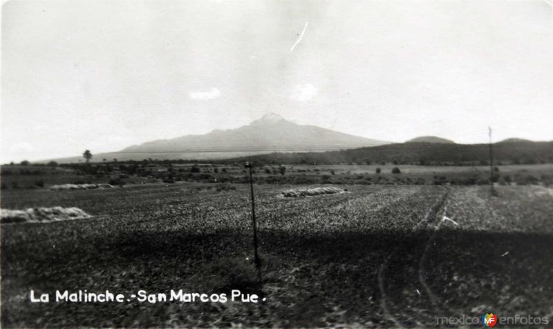 LA MALINCHE Hacia 1945
