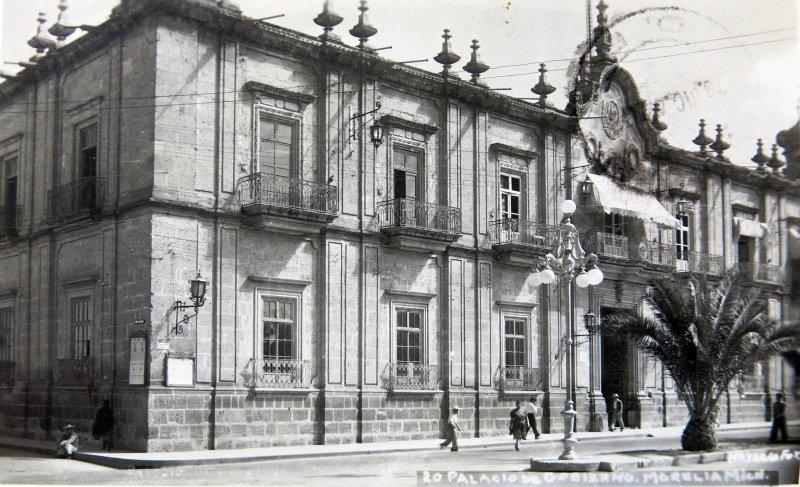 PALACIO DEGOBIERNO Hacia 1945