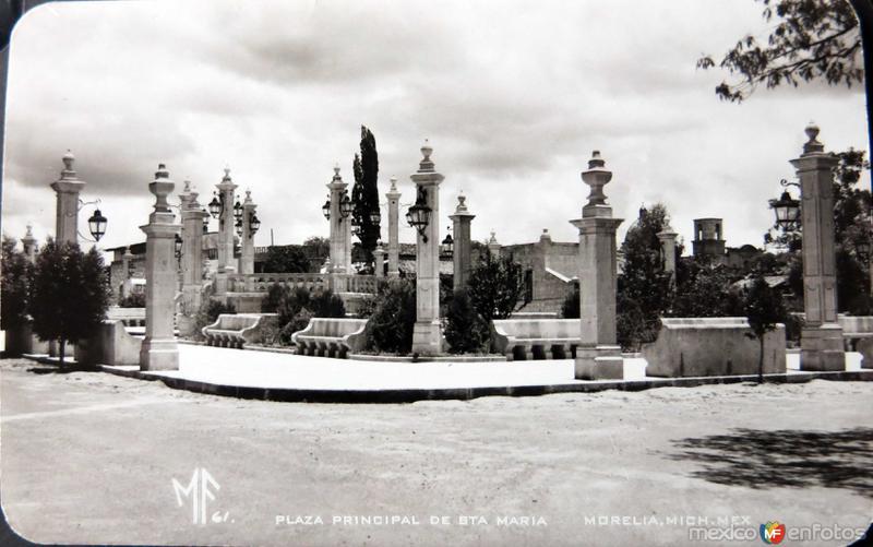 PLAZA DE SANTA MARIA Hacia 1945