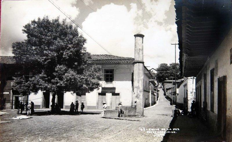 CALLE DE LA PAZ Hacia 1945